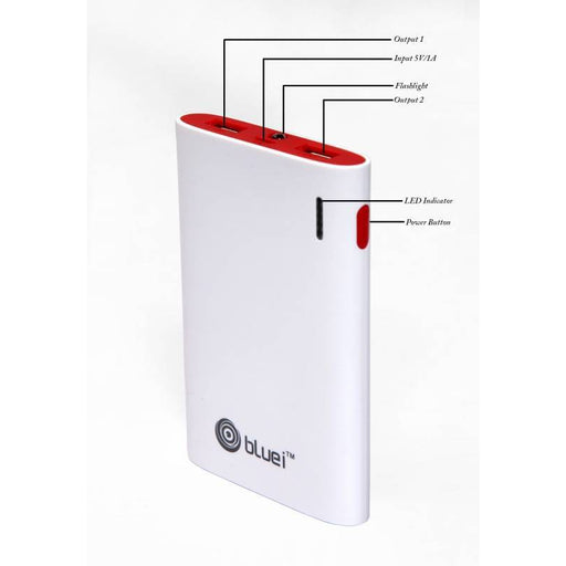 Ultra Slim Power Bank - 6600 mAh  ( High Quality Lithium Polymer)