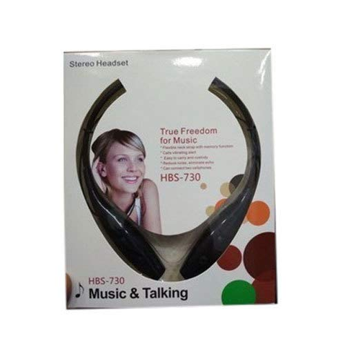 HBS 730 Neckband Bluetooth Headphones with vibrate function