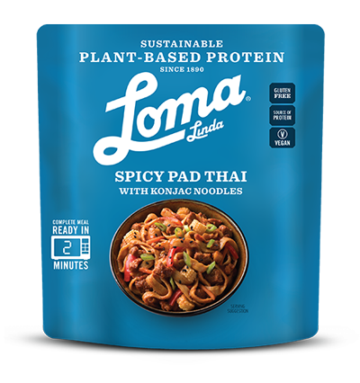 Loma Linda Mock Meat Spicy Pad Thai Ready Meal