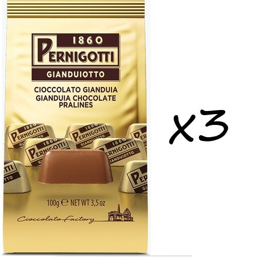 Pernigotti Gianduiotti 150g Bag Triple Pack