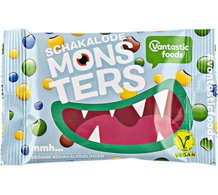 Vantastic Foods Monsters Smarties 45g Bag