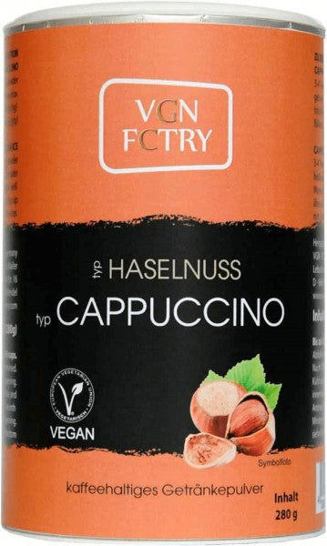 VGN FCTRY Hazelnut Cappuccino Mix