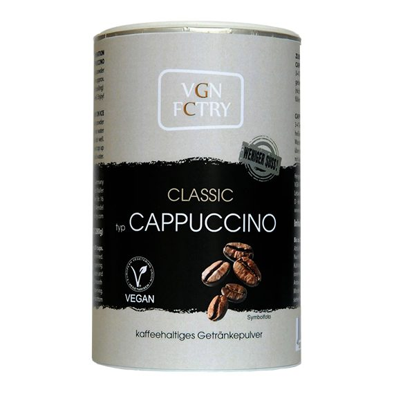 VGN FCTRY Classic Cappuccino Mix Reduced Sugar