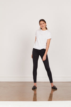 ENCHANTÉE ROLLED SLEEVE TEE