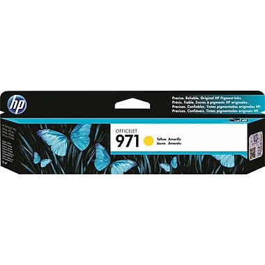HP 971 (CN624AM) Yellow Original Ink Cartridge (2500 Yield)