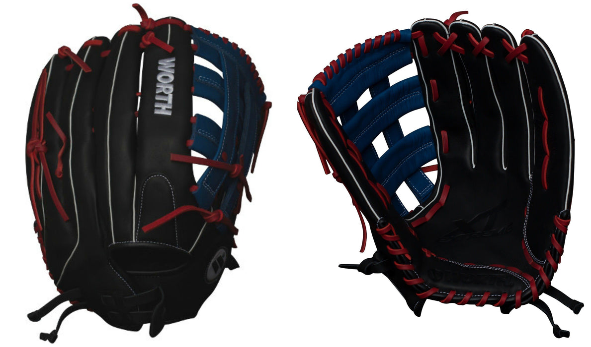 Worth XT Extreme 15 Inch Slowpitch Softball Glove: WXT150PH