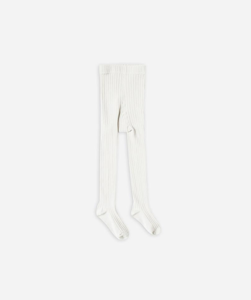 Rylee + Cru Ribbed Tights, Coconut