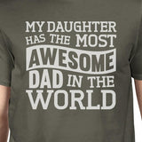 The Most Awesome Dad Mens Funny Design Short