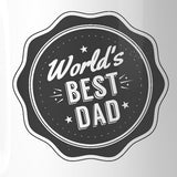World's Best Dad Ceramic Gift Mug Perfect Fathers
