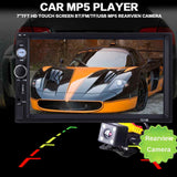 Car Audio Stereo Touch Screen 7 Inch  MP5 Player Rearview Camera - Smart gadget & Accessories,Baby & toy