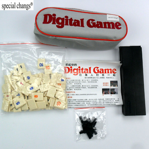 Family Classic Board Digital Game Tiles - Smart gadget & Accessories,Baby & toy