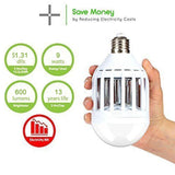 Dual LED Light bulb Zapper Mosquito killer - Smart gadget & Accessories,Baby & toy
