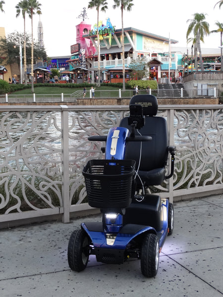 Scooter Rental at Universal Studio's Orlando Options and Usage ( Volume 2 )
