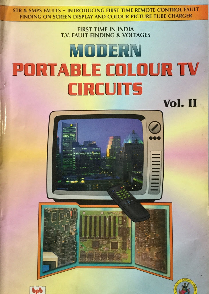 Modern Portable Colour Television Circuits Vol. 2 by Manahar Lotia