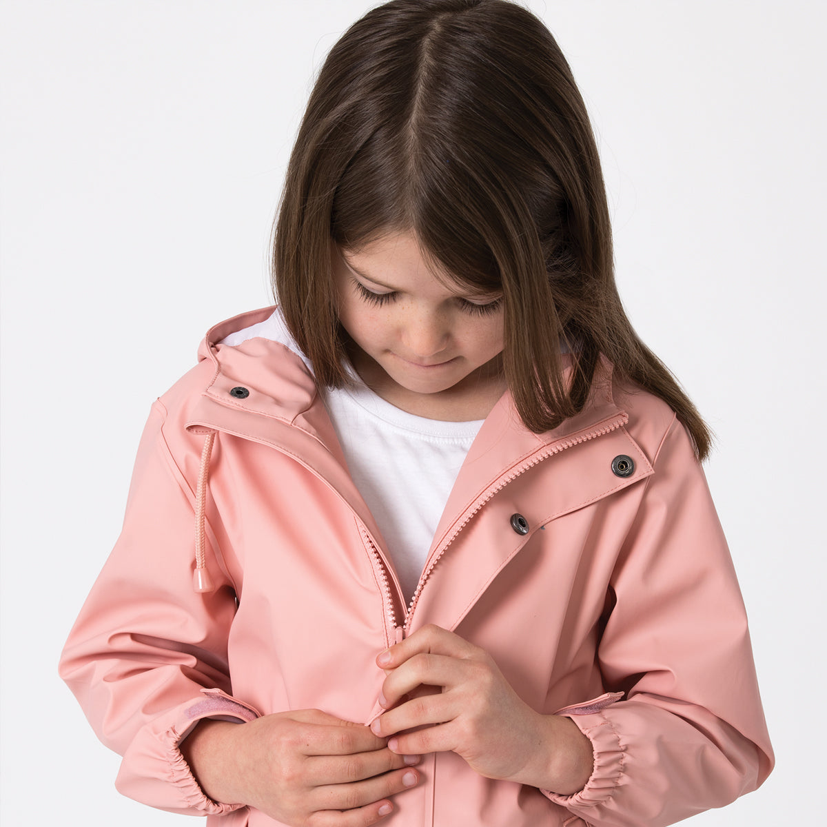 crywolf play jacket children's rain coat blush