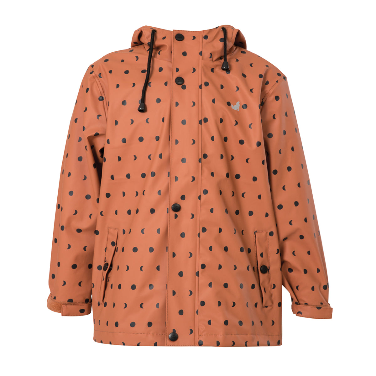 crywolf play jacket children's rain coat crater back