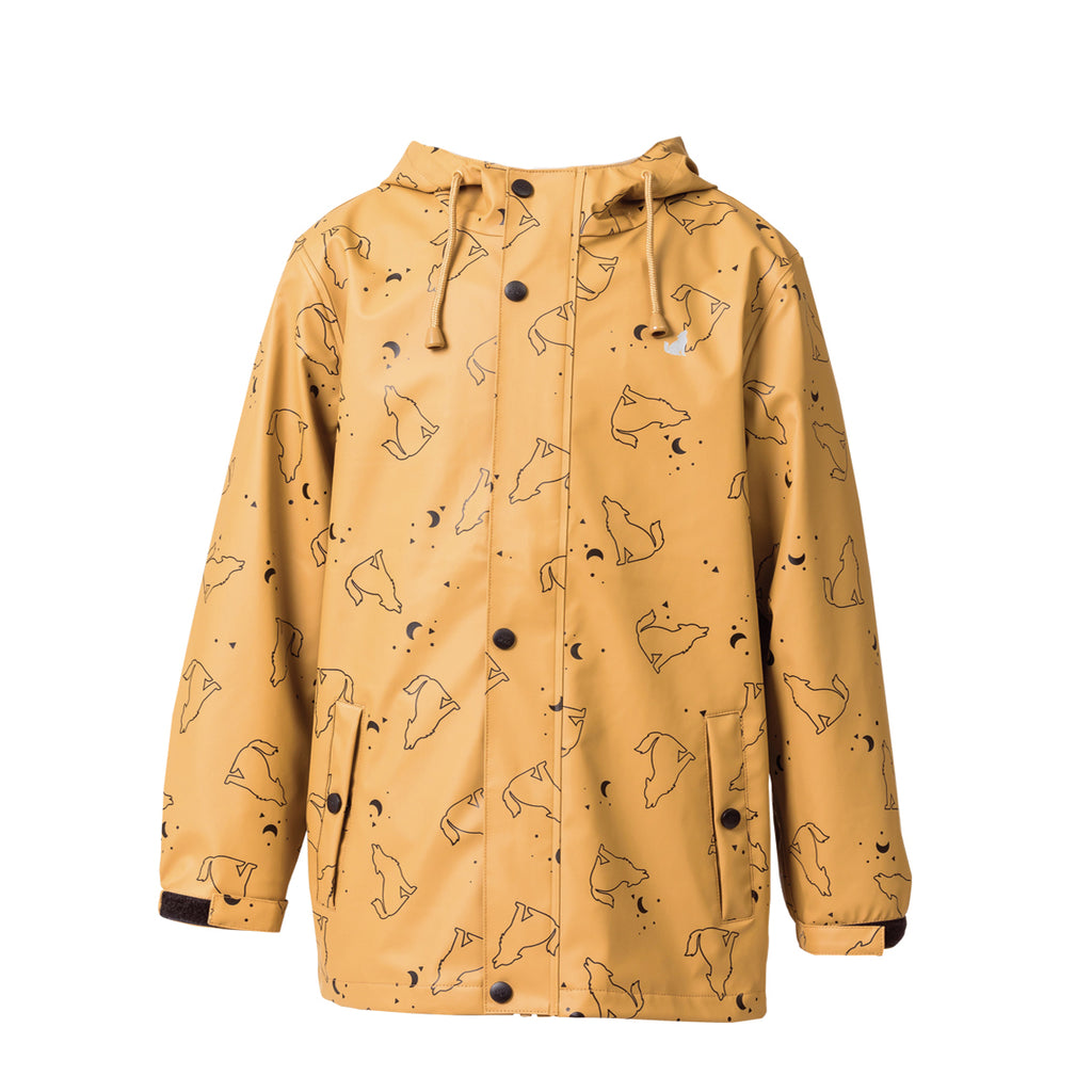 Play Jacket Wolf Print