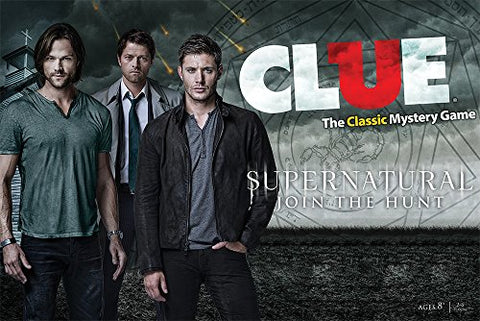 "Picture of the ""Supernatural Clue"" box"