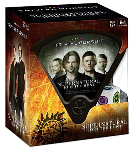 "Picture of ""Supernatural Trivial Pursuit"" game box."