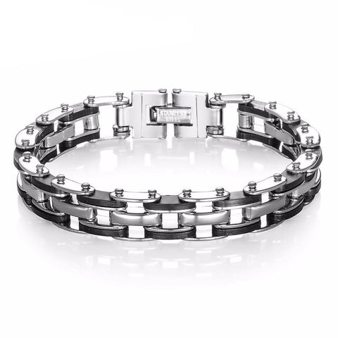 Picture of Motorcycle Chain bracelet.