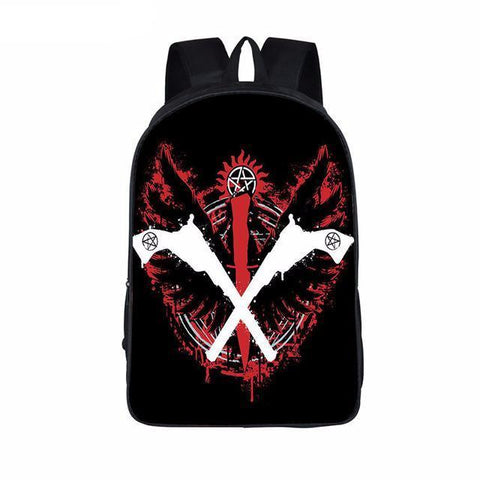 Supernatural backpack - Weapons Of Choice