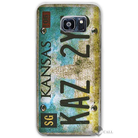 Supernatural License Plate Galaxy phone case.