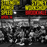 Sydney Strength, Power, Speed Workshop #1  - Brookvale (EARLY BIRD SPECIAL)