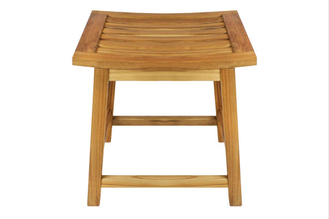 Villa Acacia Wood Bath Stool