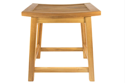 Terra Teak Wooden Shower Stool