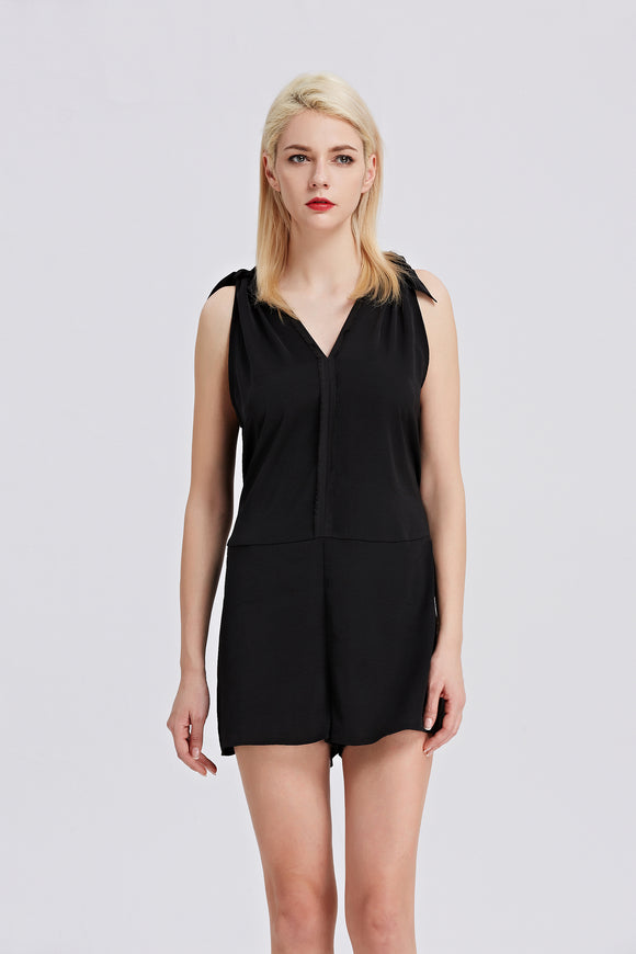 Black-Sleeveless-Romper-Main