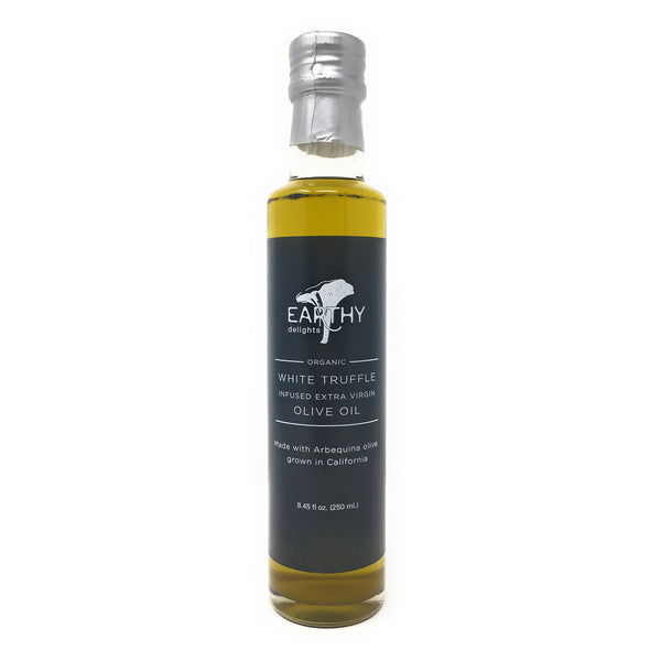 Earthy Delights Organic White Truffle Infused Extra Virgin Olive Oil, 8.45oz