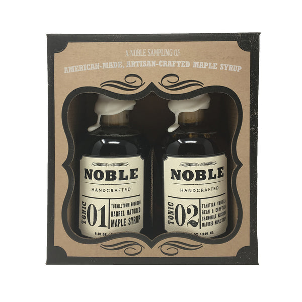 Noble Tonic Maple Syrup Gift Box - Includes Noble Tonic 01 and Noble Tonic 02