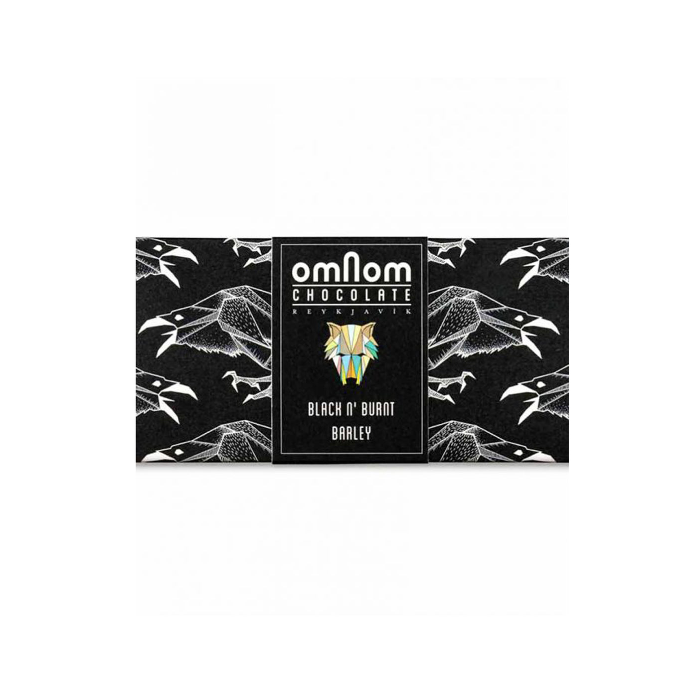 Omnom Black 'n Burnt Barley Chocolate Bar