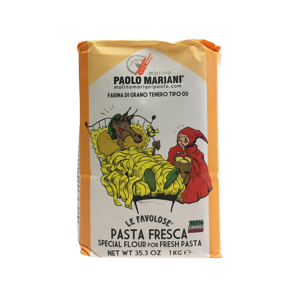 PAOLO MARIANI Type 00 Flour for Fresh Pasta and Gnocchi 2.2 Lbs