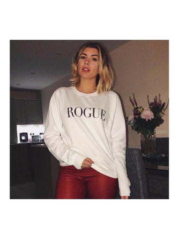 ROGUE sweatshirt in white