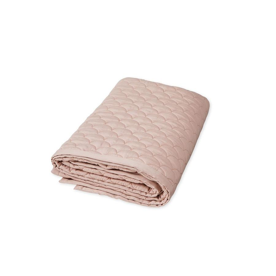 "Baby Blanket ""Wave Dusty Rose"""
