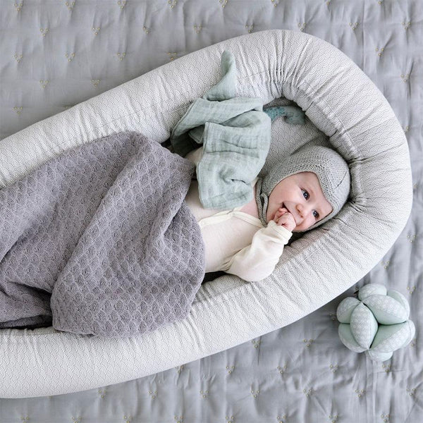"Babynest ""Grey Wave"""