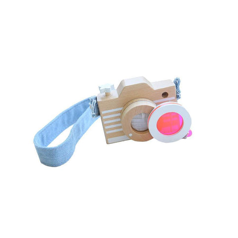 "Wooden Camera ""Pink"""