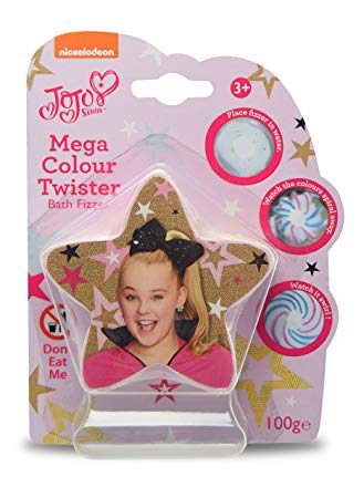 JoJo Siwa Colour Twist Star Bath Fizzer