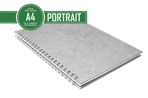 A4 Posh Notebook 80gsm Lined Paper 70 Leaves Portrait