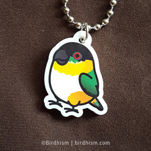 Chubby Black-headed Caique Necklace