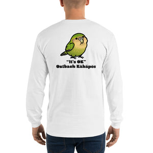 Custom Kakapo Long Sleeve T-Shirt