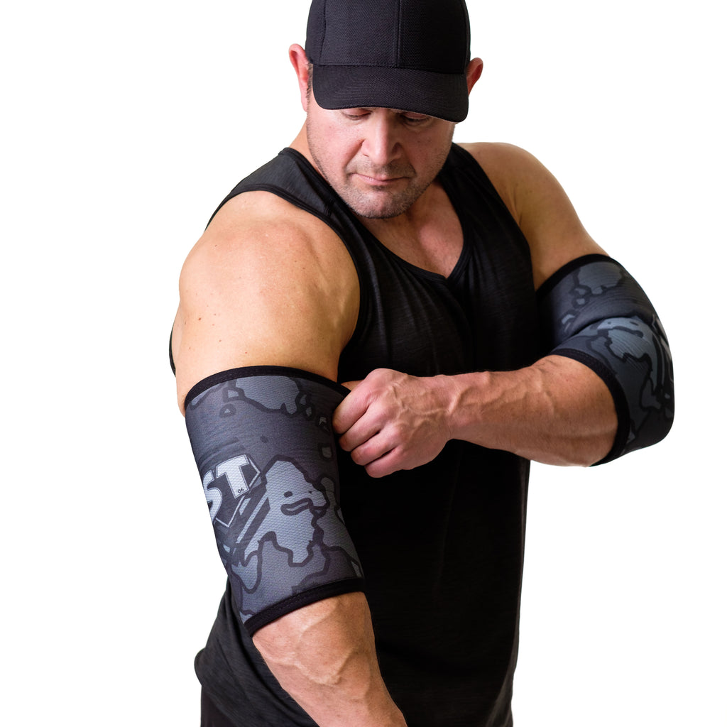 MB2 STrong Elbow Sleeves - Mark Bell - Sling Shot