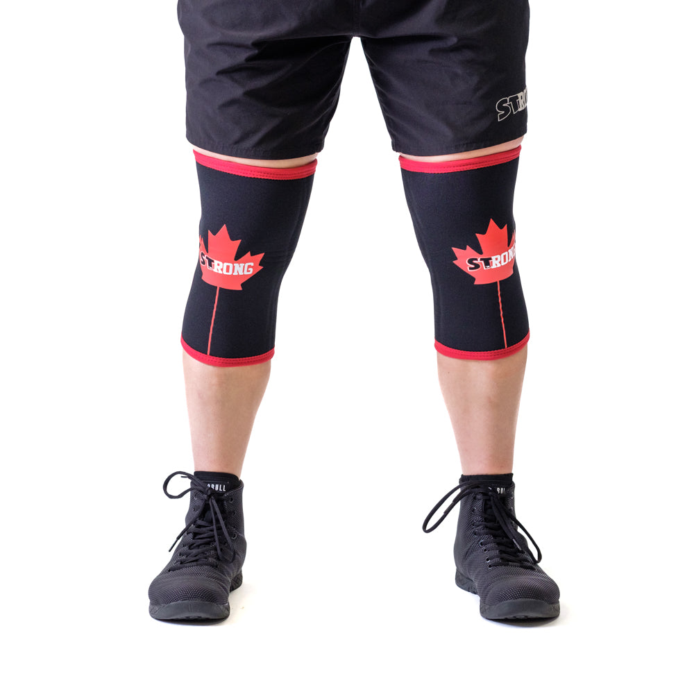 Canada STrong Knee Sleeves - Mark Bell - Sling Shot