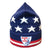 H&T Moriarty Stars and Stripes Peak Hat