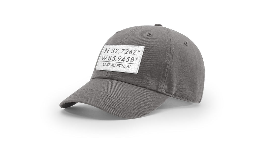 Lake Martin GPS Coordinates Cotton Hat