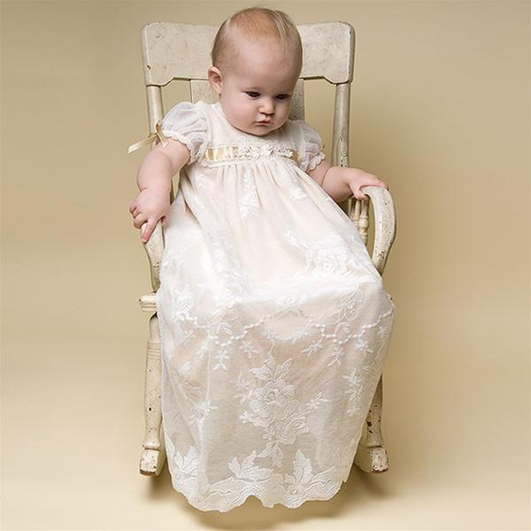 Louisa Christening Gown & Bonnet