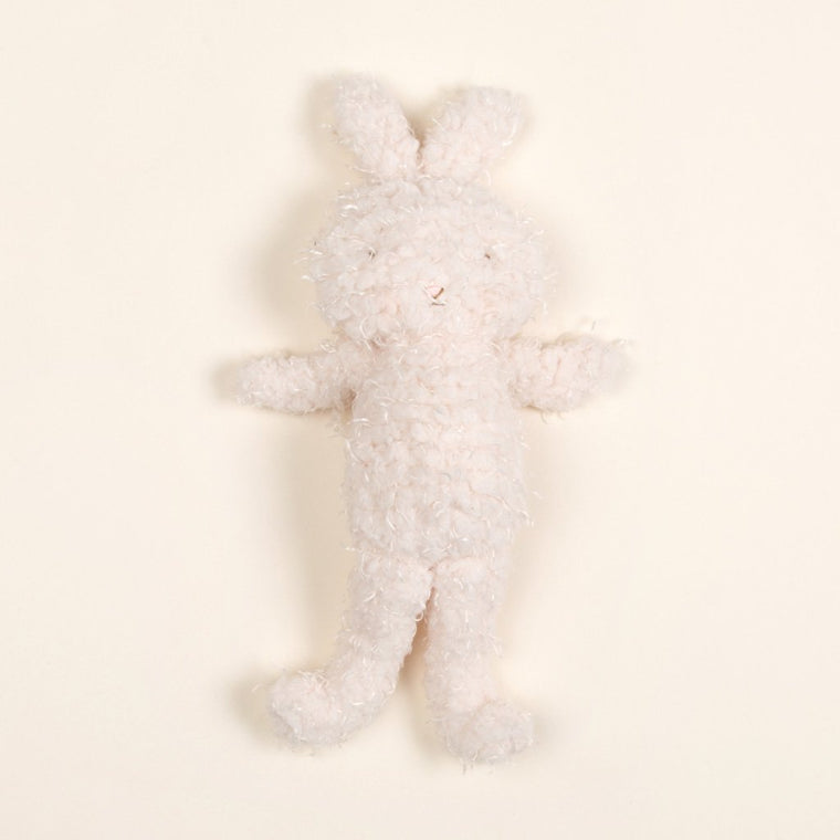 Shaggy Bunny Friend Cream - Christening Gift