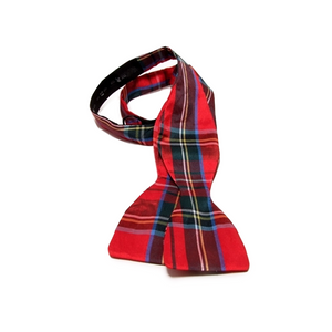 Men's Tartan Self Tie Bow Tie | The Scottish Company | Toronto