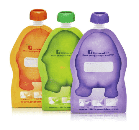Little Mashies 2pk - Reusable Squeeze Pouch